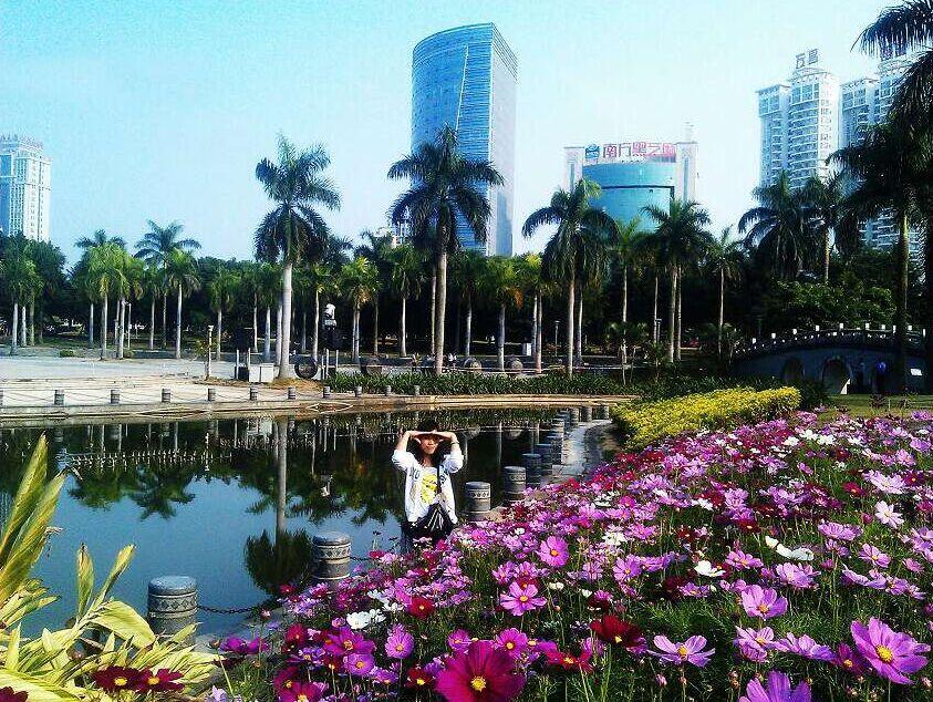 自从来南宁之后,就很喜欢拍南宁的风景祝南宁越来越漂亮!网  摄 -